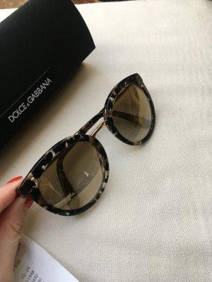 Dolce & Gabbana Lunettes doré-noir