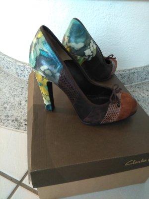 Dolce & Gabbana Pumps met hoge zool bruin-lichtbruin