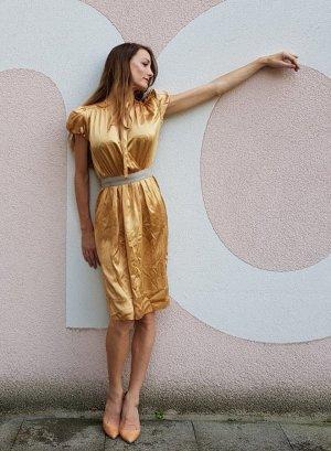 Dolce & Gabanna Kleid aus Seide Runway piece Festlich Weihnachten Silvester Sylvester
