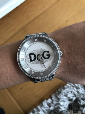 Dolce & Gabbana Watch With Metal Strap silver-colored-black stainless steel