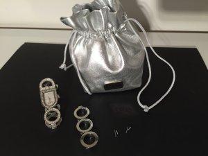 Dolce & Gabanna Uhr aus Eedelstahl  mit Steinchen