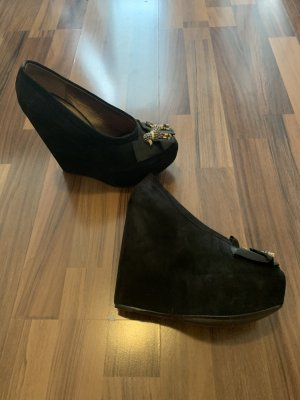 Dolce & Gabbana Pumps met hoge zool zwart
