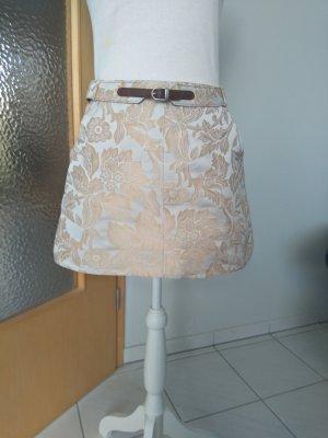 Dolce & Gabbana Minifalda crema-beige