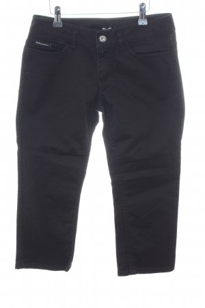 Dolce & Gabbana 3/4 Length Jeans black business style
