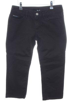 Dolce & Gabbana 3/4 Jeans schwarz Casual-Look