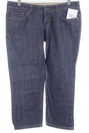 Dolce & Gabbana 3/4-jeans donkerblauw casual uitstraling