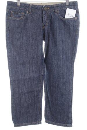 Dolce & Gabbana Jeans 3/4 bleu foncé style décontracté