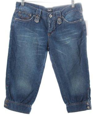 Dolce & Gabbana 3/4 Jeans kornblumenblau Casual-Look