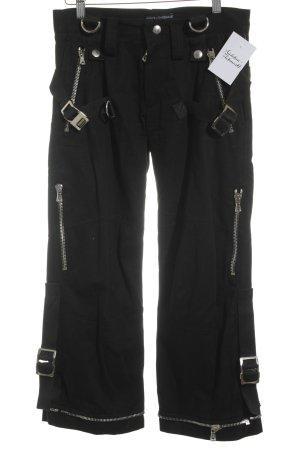 Dolce & Gabbana 7/8-Hose schwarz Casual-Look