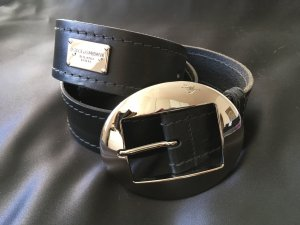 Dolce & Gabbana Leather Belt silver-colored-black