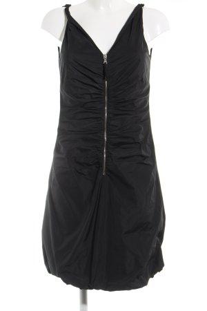 Dolce & Gabbana A-Linien Kleid schwarz extravaganter Stil