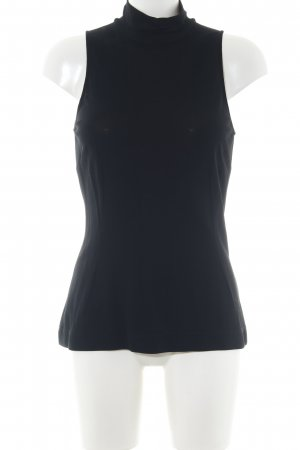 Dolce & Gabbana ärmellose Bluse schwarz Business-Look