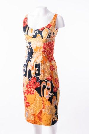 DOLCE & GABBANA - Ärmelloses Kleid mit floralem Print