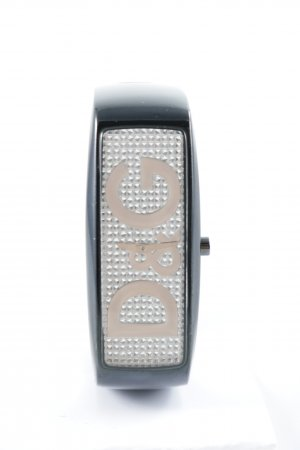 Dolce & Gabbana Analog Watch black brown-silver-colored extravagant style