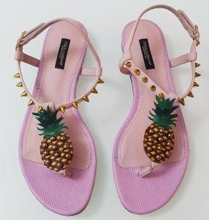 Dolce Gabbana Ananas Sandalen