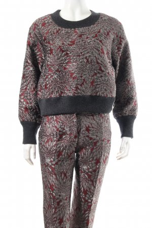 Dolce & Gabbana Anzug florales Muster Elegant