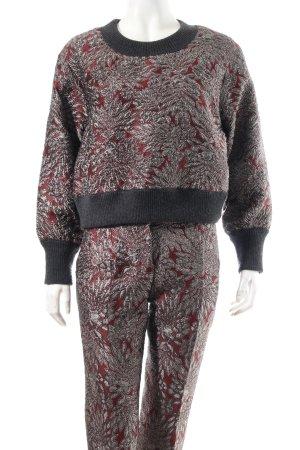 Dolce & Gabbana Anzug florales Muster Eleganz-Look