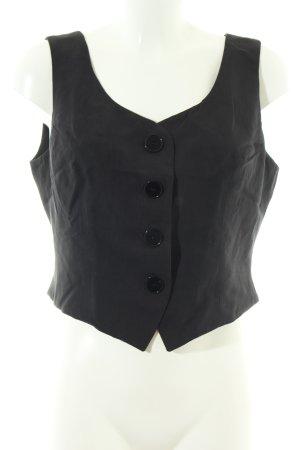 Dolce & Gabbana Gilet de costume noir style d'affaires