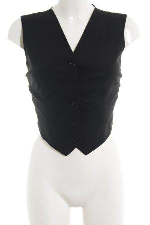 Dolce & Gabbana Anzugweste schwarz Business-Look