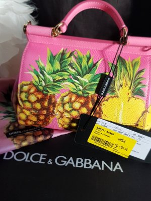 DOLCE & GABBANA Bag mit Ananas Print