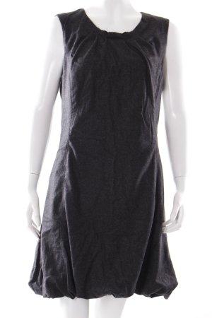 Dolce & Gabbana Ballonkleid anthrazit meliert klassischer Stil