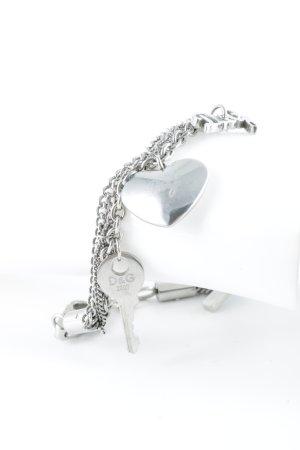 Dolce & Gabbana Armbandje met bedels zilver Boho uitstraling