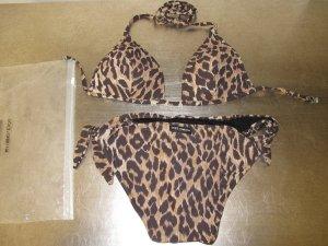 Dolce & Gabbana Bikini Leopard Leo Animal 34 XS 100% Original