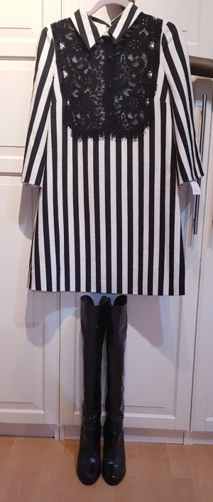 Dolce & Gabbana Black Label Luxus Kleid Blogger striped