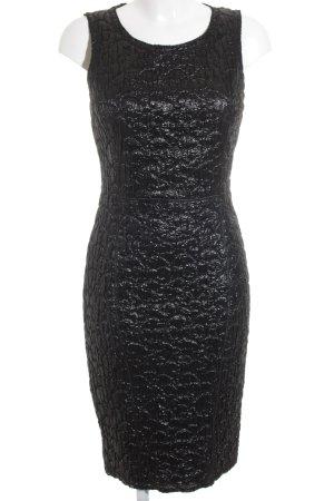 Dolce & Gabbana Falda estilo lápiz negro elegante