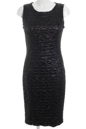 Dolce & Gabbana Kokerjurk zwart-zilver elegant