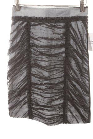 Dolce & Gabbana Bleistiftrock schwarz-grau Eleganz-Look