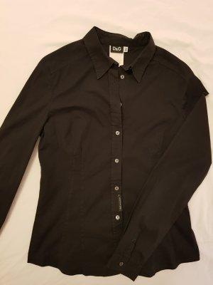 Dolce & Gabbana Bluse schwarz  Gr. 40