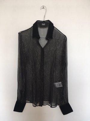 Dolce & Gabbana Bluse Seide tranzparent