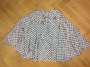 Dolce&Gabbana Bluse weiß/schwarz Gr. D 38 IT 42