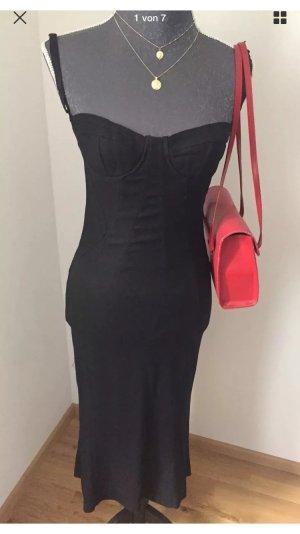 Dolce & Gabbana Vestido bustier negro