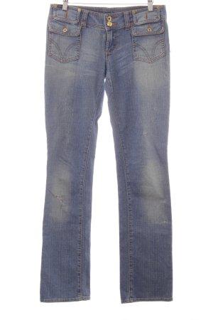 Dolce & Gabbana Boot Cut Jeans himmelblau Jeans-Optik