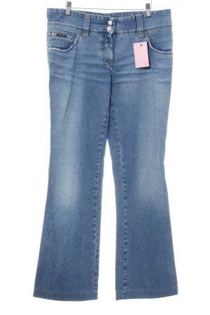 Dolce & Gabbana Boot Cut Jeans himmelblau-kornblumenblau Casual-Look