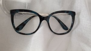Dolce & Gabbana Glasses black-petrol acetate