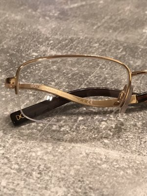 Dolce & Gabbana Glasses gold-colored-brown