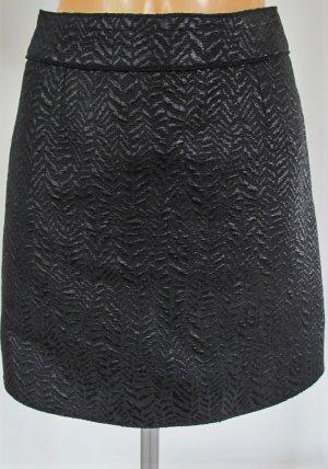 Dolce&Gabbana Brokat Rock Skirt schwarz NP 500,-€ wNeu