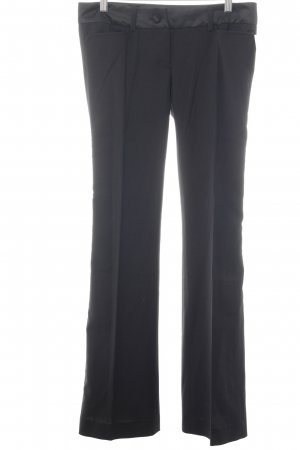 Dolce & Gabbana Bundfaltenhose schwarz Business-Look