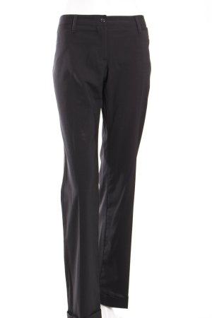 Dolce & Gabbana Bundfaltenhose schwarz