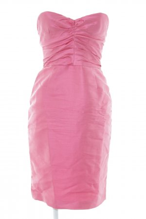 Dolce & Gabbana Vestido bustier magenta elegante
