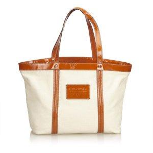 Dolce & Gabbana Bolso de compra blanco