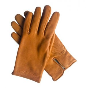 Dolce & Gabbana Cashmere Lining Leather Gloves