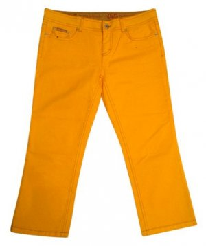 Dolce & Gabbana 3/4 Length Trousers light orange cotton