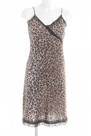 Dolce & Gabbana Cocktail Dress leopard pattern elegant