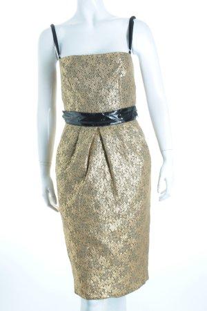 Dolce & Gabbana Cocktailkleid schwarz-goldfarben Eleganz-Look