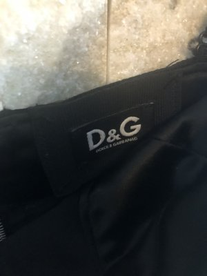 Dolce & Gabbana Corsage brun foncé-brun noir