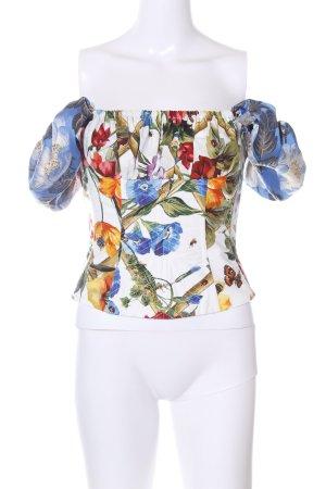 Dolce & Gabbana Corsagen Top Allover-Druck Elegant